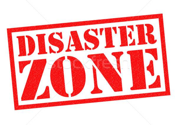 DISASTER ZONE Stock photo © chrisdorney