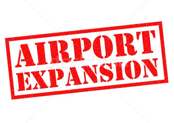 AIRPORT EXPANSION Stock photo © chrisdorney