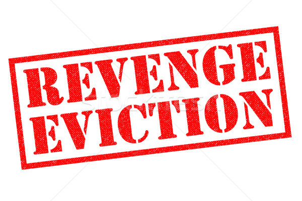 REVENGE EVICTION Stock photo © chrisdorney