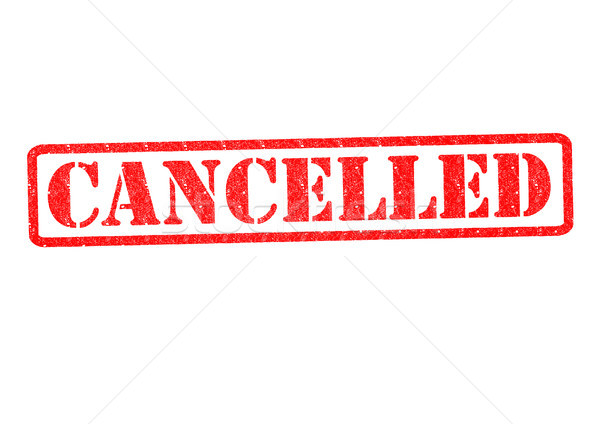 CANCELLED Rubber Stamp Stock photo © chrisdorney