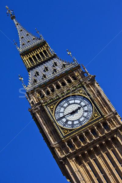 Big Ben in London Stock photo © chrisdorney