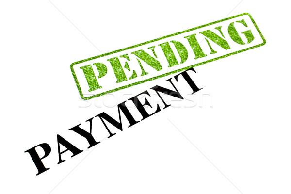 ödeme kadar iş para alışveriş finansal Stok fotoğraf © chrisdorney