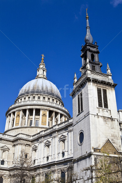 St. Paul's Cathedral and the Tower of the Former St. Augustine C Stock photo © chrisdorney