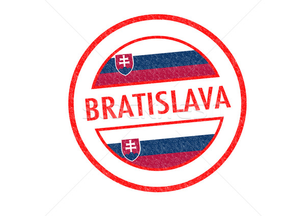 Bratislava Slovaquie blanche pavillon vacances Photo stock © chrisdorney