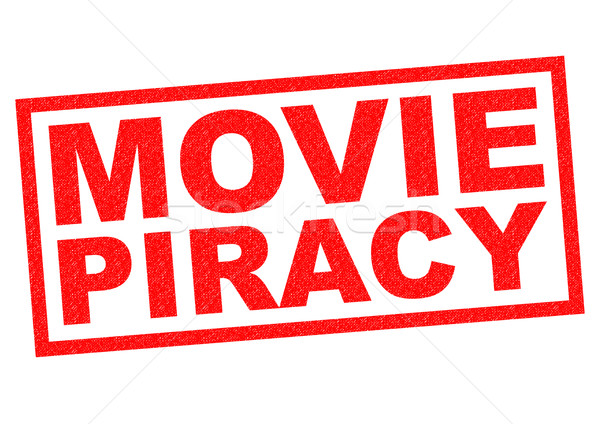 Stock photo: MOVIE PIRACY