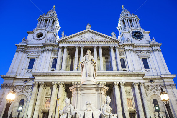 St. Pauls Cathedral in London Stock photo © chrisdorney