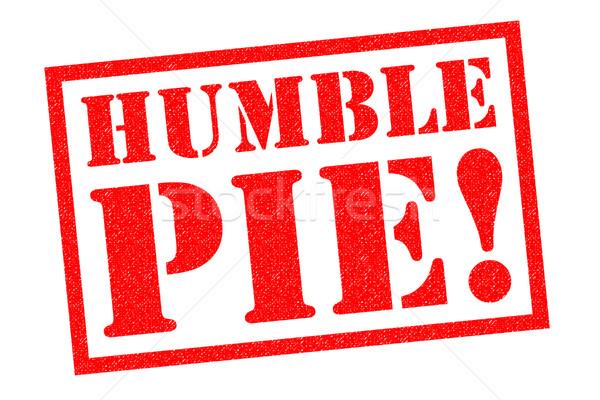 HUMBLE PIE! Stock photo © chrisdorney