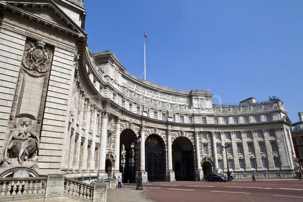 Arch. Londyn imponujący lata architektury Anglii Zdjęcia stock © chrisdorney