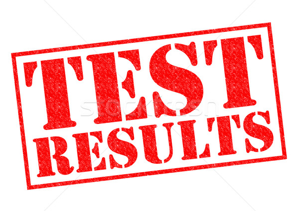 TEST RESULTS Stock photo © chrisdorney