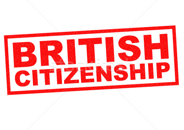BRITISH CITIZENSHIP Stock photo © chrisdorney