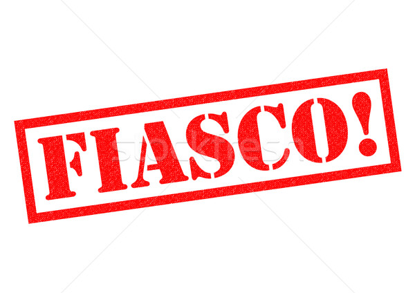 FIASCO! Stock photo © chrisdorney