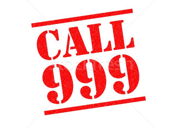 CALL 999 Stock photo © chrisdorney