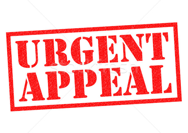 URGENT APPEAL Stock photo © chrisdorney