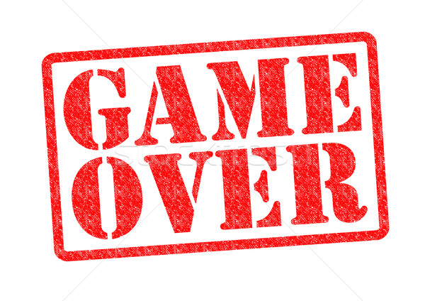 GAME OVER Stock photo © chrisdorney