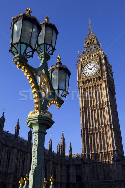 Big Ben horloge été Angleterre tourisme Photo stock © chrisdorney