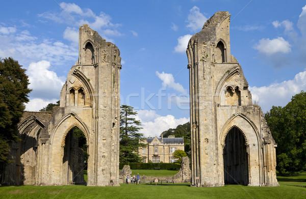 Abdij historisch ruines huis Europa Engeland Stockfoto © chrisdorney