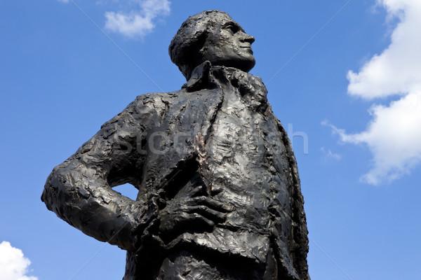 Thomas Jefferson Statue in Paris Stock photo © chrisdorney