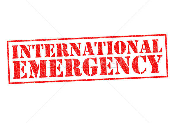 INTERNATIONAL EMERGENCY Stock photo © chrisdorney