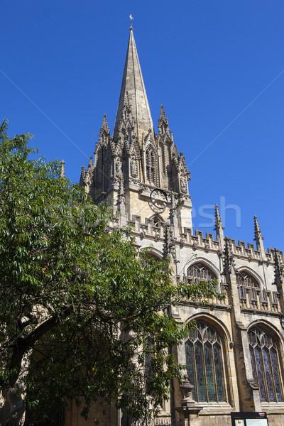 üniversite kilise bakire oxford Gotik Stok fotoğraf © chrisdorney