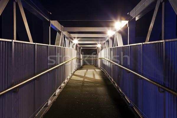 Urban Foot Bridge Stock photo © chrisdorney