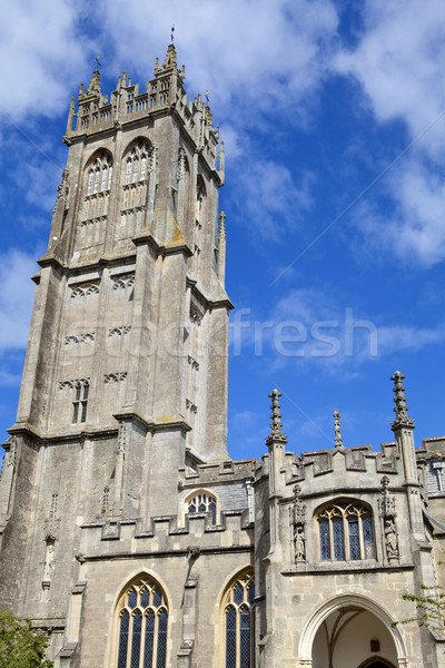 St John's Church in Glastonbury Stock photo © chrisdorney