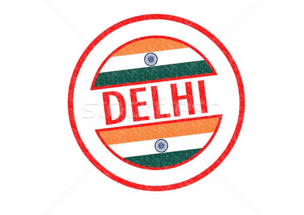 Delhi Inde blanche asian Asie Photo stock © chrisdorney