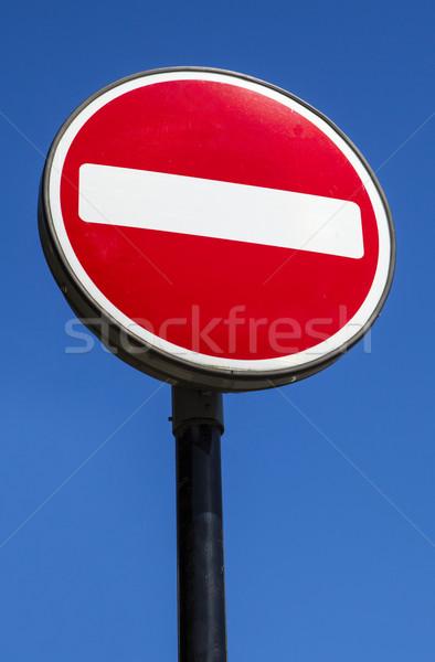 No Entry Sign Stock photo © chrisdorney