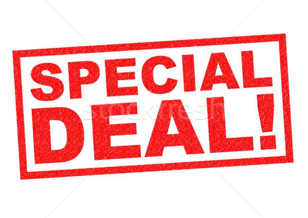 SPECIAL DEAL! Stock photo © chrisdorney