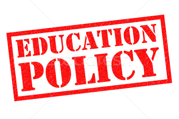 EDUCATION POLICY Rubber Stamp Stock photo © chrisdorney