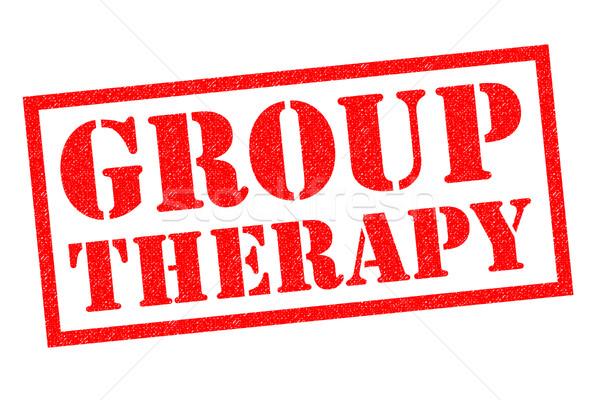 GROUP THERAPY Stock photo © chrisdorney