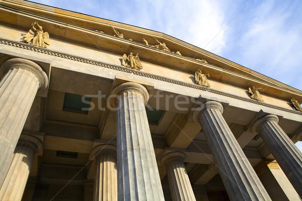 Берлин фасад впечатляющий новых гвардии Сток-фото © chrisdorney