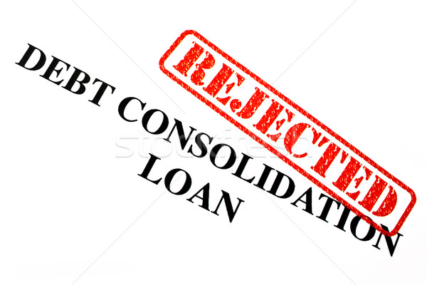 Rejected Debt Consolidation Loan Stock photo © chrisdorney