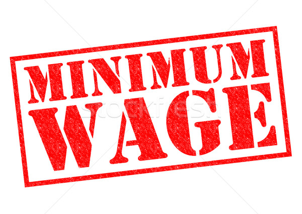 MINIMUM WAGE Stock photo © chrisdorney