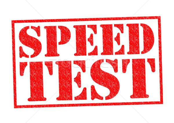 SPEED TEST Stock photo © chrisdorney