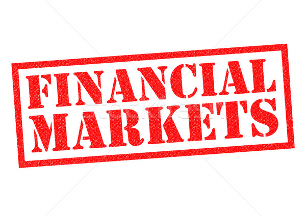 FINANCIAL MARKETS Stock photo © chrisdorney