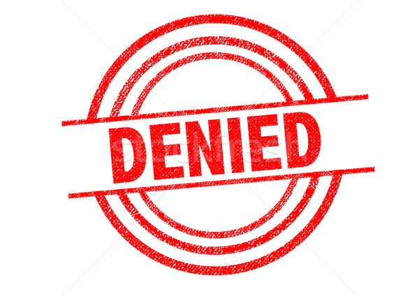 DENIED Rubber Stamp Stock photo © chrisdorney