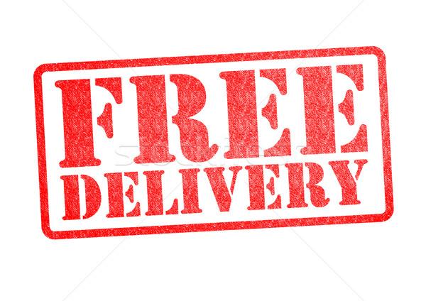 Сток-фото: бесплатная · доставка · белый · почты · письме · Финансы