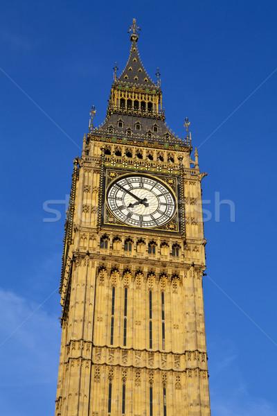 большой Бен домах парламент Лондон впечатляющий Сток-фото © chrisdorney