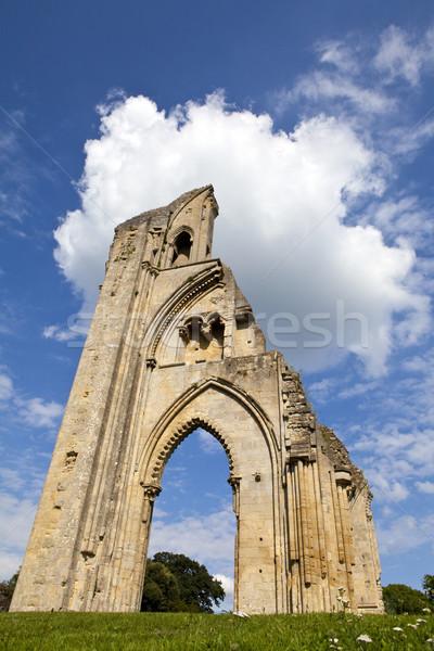 Glastonbury Abbey Stock photo © chrisdorney