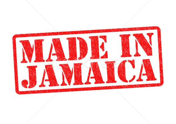 Jamajka biały czerwony budować Afryki Zdjęcia stock © chrisdorney