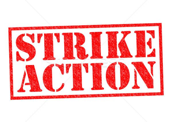 STRIKE ACTION Stock photo © chrisdorney