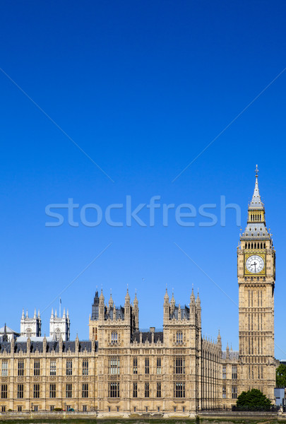 дворец Вестминстерский Лондон мнение великолепный архитектура Сток-фото © chrisdorney
