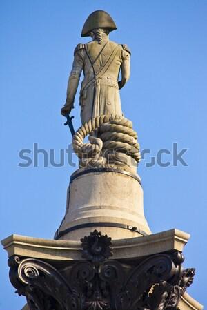 Nelson's Column in Trafalgar Square Stock photo © chrisdorney
