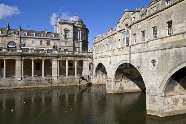Pulteney Bridge and the River Avon Stock photo © chrisdorney