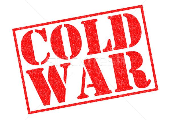 Foto stock: Frío · guerra · rojo · blanco · historia