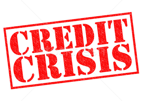 CREDIT CRISIS Stock photo © chrisdorney