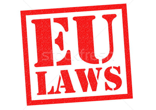 EU LAWS Stock photo © chrisdorney
