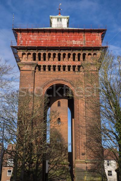 Foto stock: água · torre · impressionante · histórico · cidade · indústria