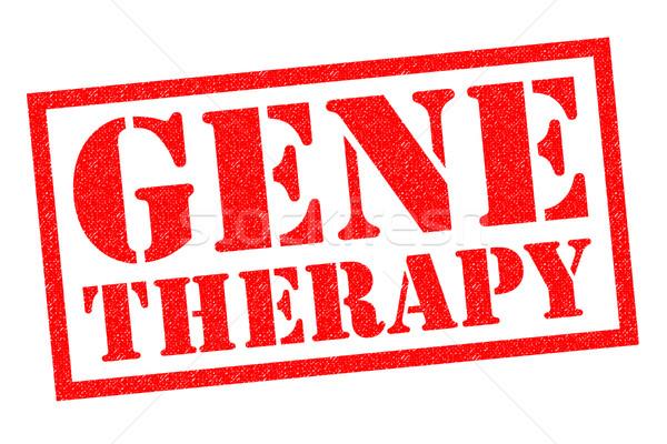Gene terapia vermelho branco hospital Foto stock © chrisdorney