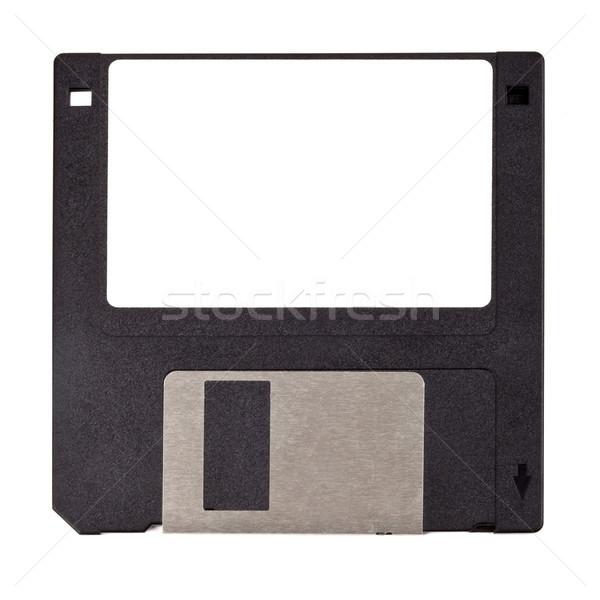 диск изолированный белый компьютер служба фон Сток-фото © chrisdorney